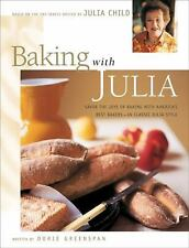 BAKING with JULIA by Dorie Greenspan & Julia Child 1st Ed Hardcover Never Used