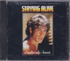 STAYING ALIVE SOUNDTRACK CD Bee Gees Frank Stallon Cynthia Rhodes Tommy Faragher