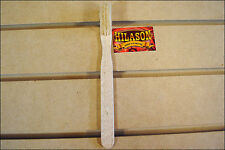 HILASON SHOW HORSE HOOF TRIMMING BRUSH WITH WOOD HANDLE