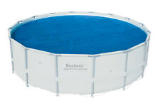 Bestway 16-Foot Round Above Ground Swimming Pool Solar Heat Cover | 58253E