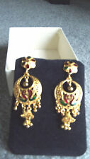 Indian Bollywood Gold Plated chandelier Earrings