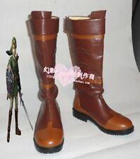 The Legend of Zelda Link Princess Halloween Long Cosplay Boots Shoes H016