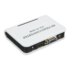 1080P Audio VGA to HDMI HD HDTV Video Converter Box Adapter for PC Laptop DVD