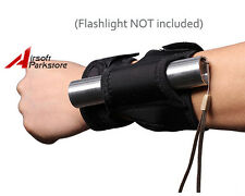 Arm Flashlight Holster Arm Pouch Hunting Diving Outdoor for Surefire