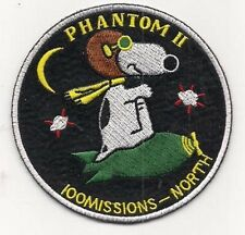 F-4 Phantom II 100 Missions North Vietnam War Patch Hard to find