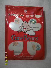 Care Bears American Greetings 30 Valentines VC-795 Sealed 1987 SCARCE
