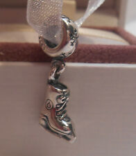AUTHENTIC PANDORA~ICE SKATE~Silver~Pendant Charm Bead 791025 Passions *NEW