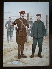 POSTCARD CORPS OF MILITARY POLICE - LANCE CORPORAL FRANCE 1916