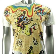 Camiseta Minute Mirth T-shirt M tp Ed Hardy Shiroi Neko tattoo biker skate bmx
