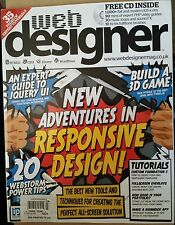 Web Designer Responsive Design Free CD Build a 3D Game #223 2014 FREE SHIPPING!