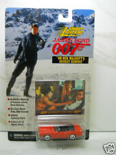 Johnny Lightning James Bond 007 1969 Mercury Cougar Convertible On Her Majesty's