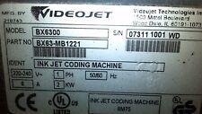 VideoJet Single Head BX6300 Printer, used in good shape