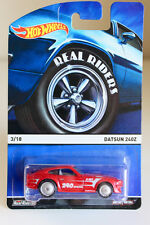 HOT WHEELS DATSUN 240Z - 2015 HERITAGE SERIES WITH REAL RIDERS