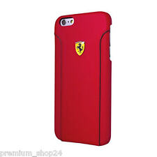 FERRARI FIORANO DELUXE ClipOn Case Cover Schale für Apple iPhone 6 Plus 5,5 red