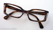 Marken Vintage Brillenfassung 60s gerade Schmetterlingsform Gestell Viennaline S