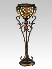 Dale Tiffany Boehme Buffet Amber Jeweled Table Accent Lamp TB101113 Living Room
