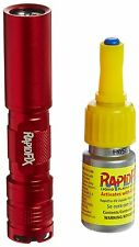 RapidFix UV Liquid Plastic Adhesive Starter Kit UV FlashLight Set Glue Bond