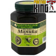 AUSTRALIAN BY NATURE 1KG BIO-ACTIVE 8+ MANUKA HONEY antibacterial abn comvita