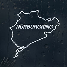 Funny Racing Nurburgring Final Lap Car Decal Vinyl Sticker