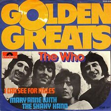 "7"" Who – I Can See For Miles / Mary Anne With.. / Golden Greats // Rare Germany"