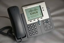 Lot of 4 Cisco 7941G Unified VoIP IP Phones Cleaned Tested CP-7941G SIP SCCP