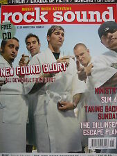 ROCK SOUND 63 - NEW FOUND GLORY - TAKING BACK SUNDAY - CRADLE OF FILTH