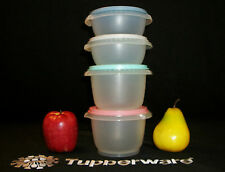 Tupperware Servalier Lunch Snack Bowls ~Seals CHOICE ~Instant ~One Touch BLUE