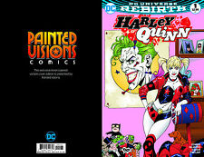 Harley Quinn #1 Aaron Lopresti Color Painted Visions Variant. DC Comics