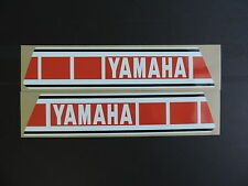 1979  Yamaha YZ 125 250 Euro Model Gas Tank Decal Set. AHRMA