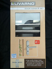 Livarno High Quality Contemporary Modern brushed Stainless Steel Door Handle