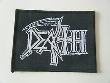 DEATH PATCH Iron On Band Logo Leprosy Scream Bloody Gore Metal Badge Autopsy NEW