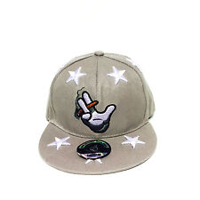Smoking Hand Stars Hip-Hop  Fresh Adjustable Unisex Baseball Hat Snapback Cap