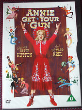 Annie Get Your Gun DVD.Starring Betty Hutton And Howard Keel.BRAND NEW & SEALED.