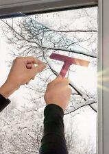 Pellicola Adesiva Trasparente protezione Solare per vetri anti Raggi UV 90 cm x