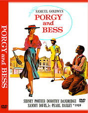 """PORGY AND BESS 1959 - 3 DVD, 1 CD - Movie Poster """"THE ULTIMATE COLLECTION SET"""""""