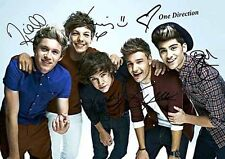 One Direction Zayn Harry Louis Liam Niall Music Autograph Signed A4 Poster 2