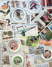 DISCOUNTED Canada Postage Lot $100 Face Value - Larger Stamp Values - All Unused