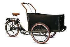 Bakfiets Troy braun KinderTransportrad Lastenfahrrad 7 G Shimano Kettenschaltung