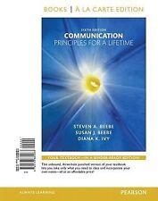 Communication: Principles for a Lifetime, Books a la Carte Edition 6 Edition
