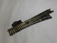 HO TRAIN VINTAGE CASADIO RIGHT HAND NO 4 BRASS TURNOUT / SWITCH VERY NICE!!
