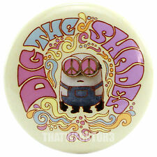 """Despicable Me Bob Minion Dig The Shades 1.25"""" Button ~ Officially Licensed"""