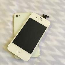 White iPhone 4 LCD Touch Screen Digitizer + Back For iPhone 4 GSM