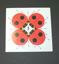 "Charles/Charley Harper Notecards ""Last Aphid"" 4 Pack w/Envelopes"