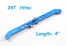 "4"" Heavy Duty Aluminum 24T Hitec Dual Servo Arm, US TH007-03817"