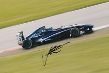 Josh Hill Hand Signed 12x8 Photo Son of Damon Hill F1 3.