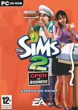 The Sims 2: Open for Business (PC) - EU cover, Full English In Game - Brand New