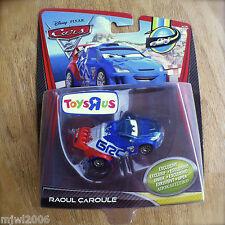 Disney PIXAR Cars 2 RAOUL ÇaROULE METALLIC TOYS R US Ransburg diecast CAROULE
