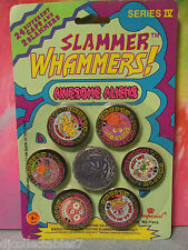 "Slammer Whammers! Series IV ""Awesome Aliens""  24 Caps / 2 Slammers"