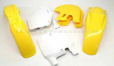 Plastic Body Kit 99-00 Suzuki RM125 250 Front Rear Side Fender Shrouds Plate V61