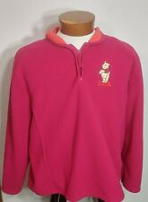 Disney Store Exclusive 100% Polyester Fleece Womens Pullover Winnie the Pooh XL